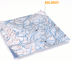3d view of Balanoy