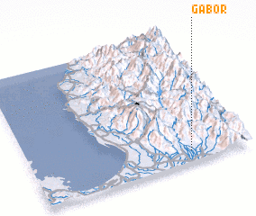 3d view of Gabor