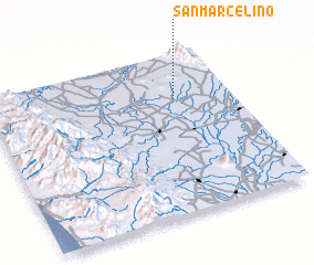 3d view of San Marcelino