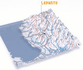 3d view of Lepanto