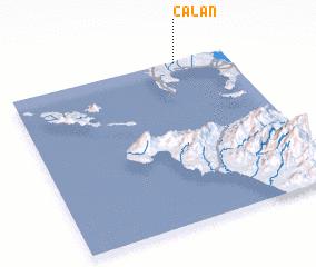 3d view of Calan