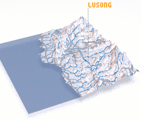 3d view of Lusong