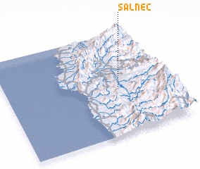 3d view of Salnec