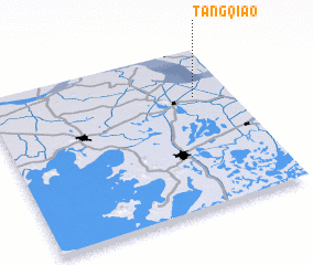3d view of Tangqiao