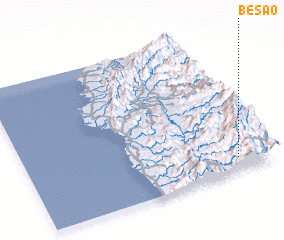 3d view of Besao
