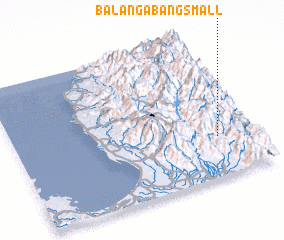 3d view of Balangabang Small
