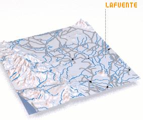 3d view of La Fuente