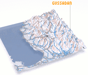 3d view of Gussadan