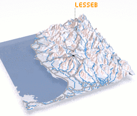 3d view of Lesseb