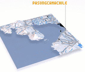 3d view of Pasong Camachile