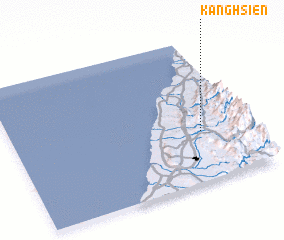 3d view of Kang-hsien
