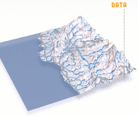 3d view of Data