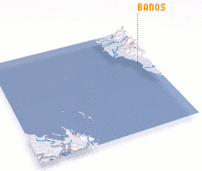 3d view of Banos