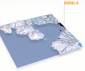 3d view of Banalo