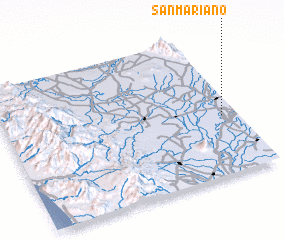 3d view of San Mariano