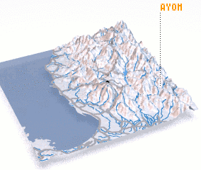3d view of Ayom