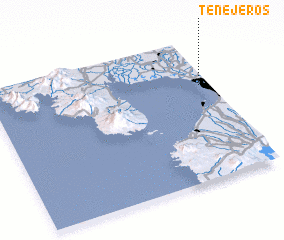 3d view of Tenejeros