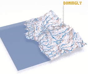 3d view of Domingly