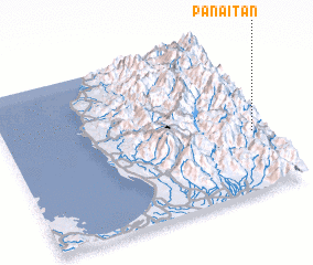 3d view of Panaitan