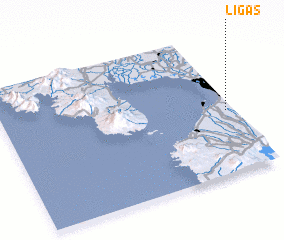 3d view of Ligas