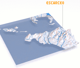 3d view of Escarceo