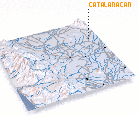 3d view of Catalanacan