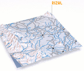 3d view of Rizal