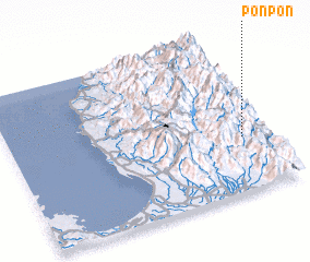 3d view of Ponpon