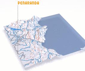 3d view of Peñaranda