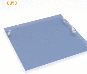 3d view of Cuyo