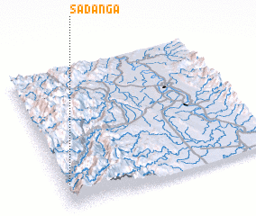 3d view of Sadanga