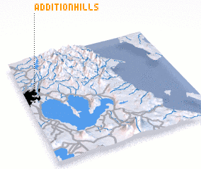 3d view of Addition Hills