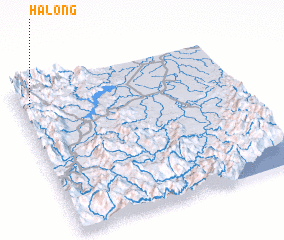 3d view of Halong