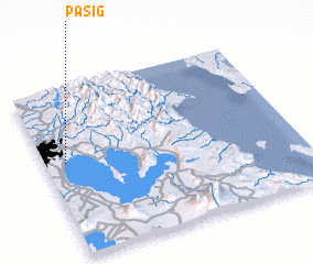 3d view of Pasig
