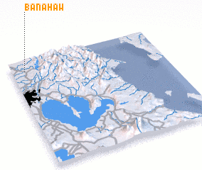 3d view of Banahaw