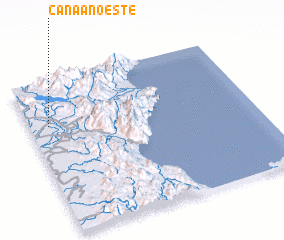 3d view of Canaan Oeste