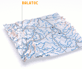 3d view of Balatoc