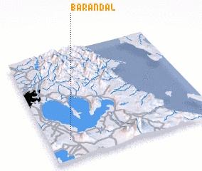 3d view of Barandal
