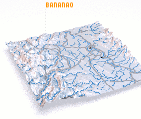3d view of Bananao