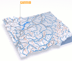 3d view of Gannib