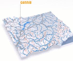 3d view of Gannib