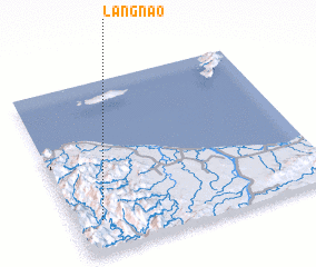 3d view of Langnao