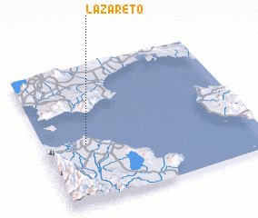 3d view of Lazareto