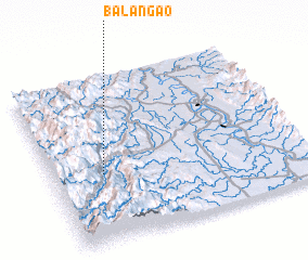 3d view of Balangao