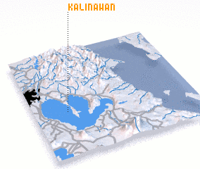 3d view of Kalinawan