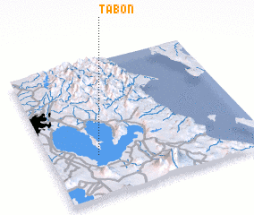 3d view of Tabon