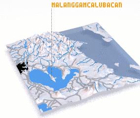 3d view of Malanggam-Calubacan