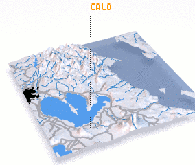 3d view of Calo