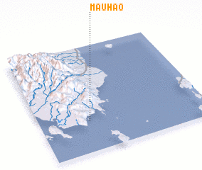 3d view of Mauhao