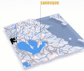 3d view of San Roque